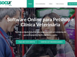 Socix Pets – Software para Pet Shop e Clínica Veterinária