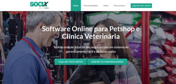 Socix Pets – Software para Pet Shop e Clínica Veterinária